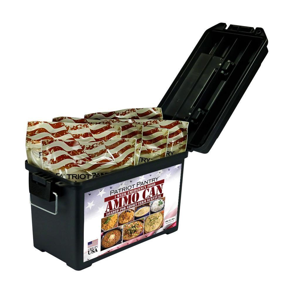 patriot survival food 4 week supply