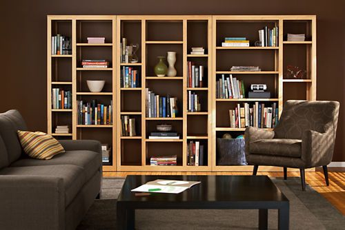 Woodwind Modern Open Back Bookcases Modern Bookcases Shelving Modern Office Furniture Living Room Furniture Layout Office Furniture Modern Shelves Modern Living Room