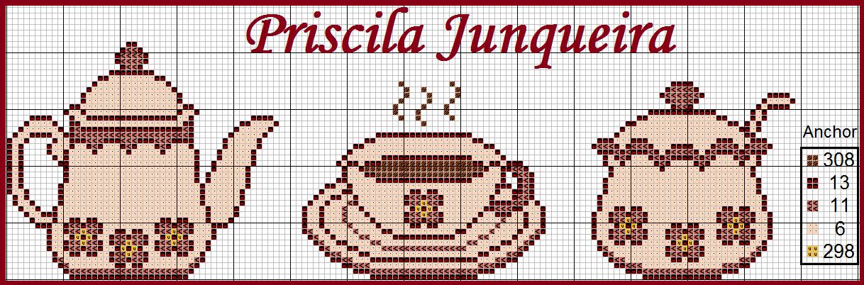 Priscila Junqueira Ponto Cruz   Cozinha   Pinterest   Kreuzstich ...