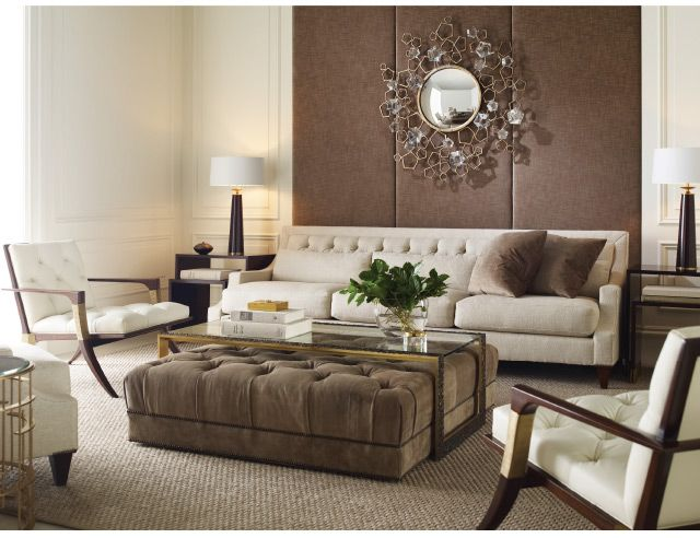 Baker Thomas Pheasant Living Room Coffee Table And