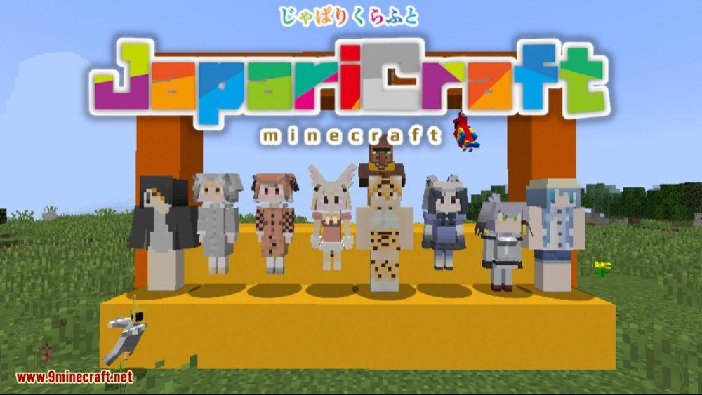 Japaricraft Mod 1 13 2 1 12 2 Minecraft Kemono Friends
