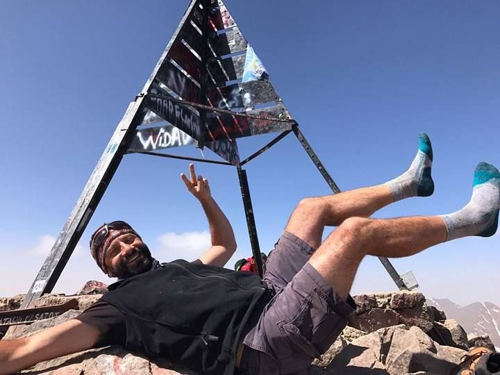 Trekking in Marocco sul #Toubkal, a 4167 metri, con Luca Panaro, #CalzeGMpeople. #maifermi #calzetrekking #Marocco