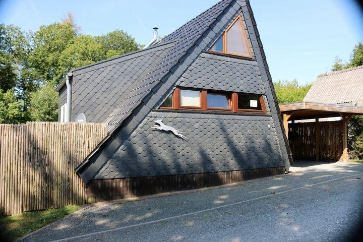 2 Meter Hoch Eingezauntes Ferienhaus In Der Eifel Fur Mensch Und Hund Ferienhaus Eifel Strandhauser Ferienhaus