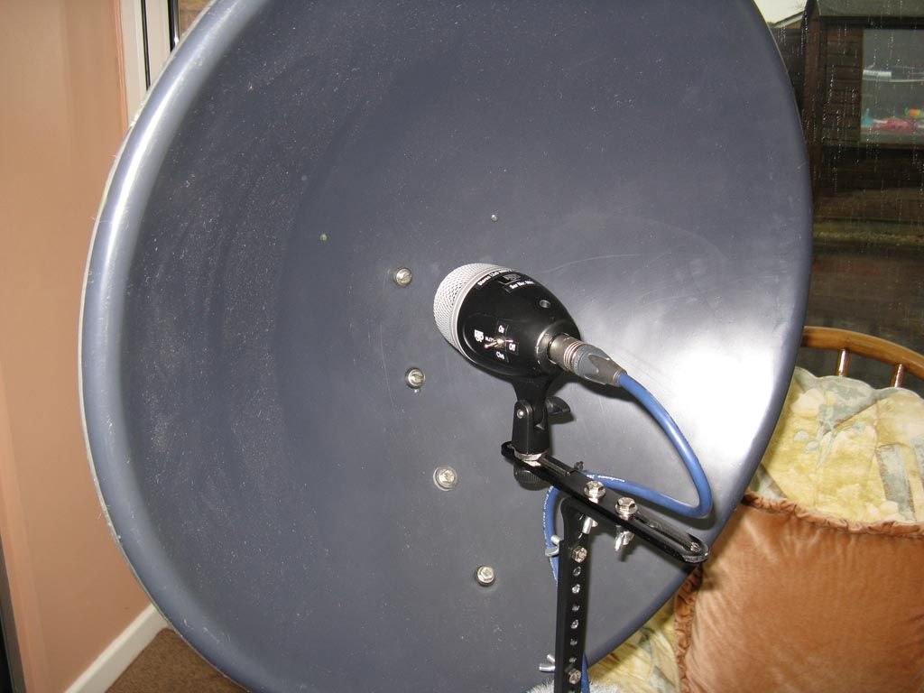 Diy Parabolic Microphone Science Projects Pinterest Multidirectional Amplifier