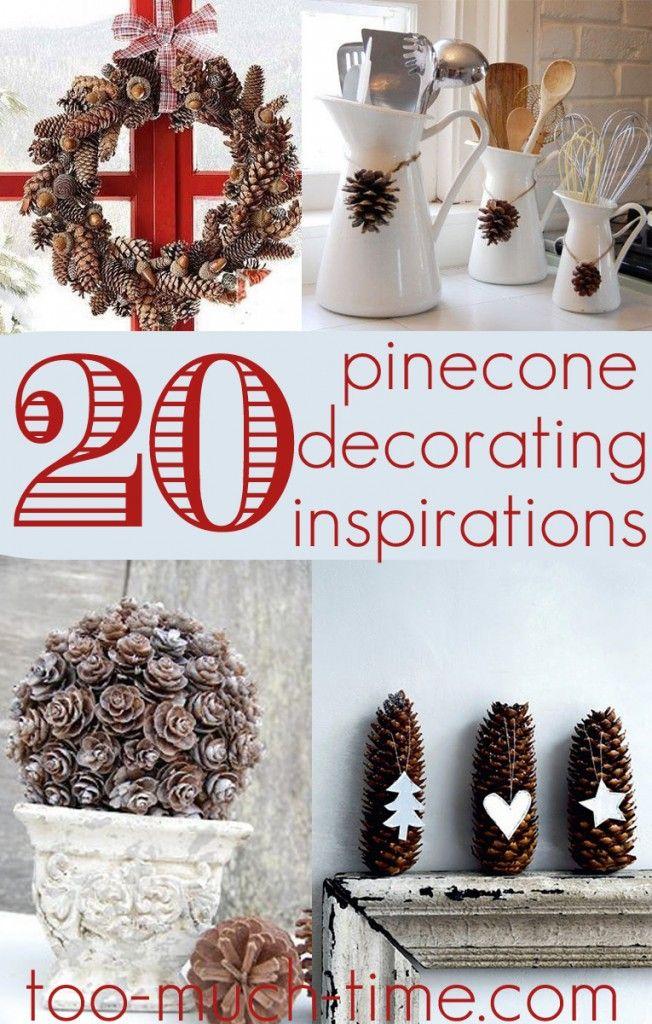 Christmas Craft Ideas Pine Cones Part - 20: 20 Pine Cone Craft Ideas