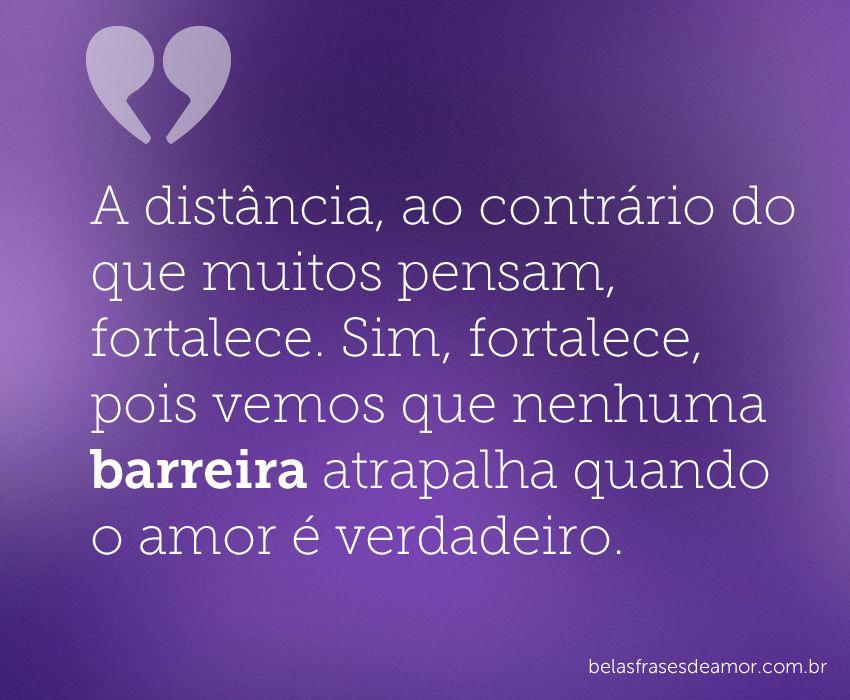 Frases De Amor A Distancia Em Portugues