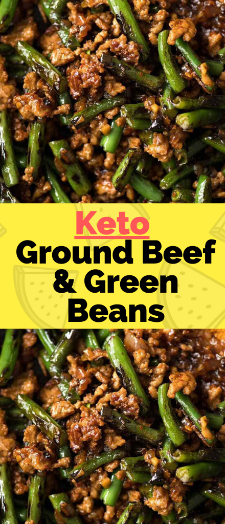 A One Skillet Wonder Real Food Affordable Ingredients Simple Prep Tasty Dinner And Easy Cleanup It S Keto Fast Food In 2020 Green Beans Ground Beef Beef Recipes
