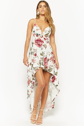 8750594dbb Floral High-Low Dress | Products | Dresses, Floral high low dress ...