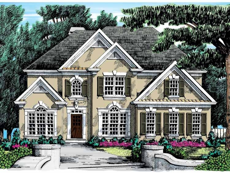 New American House Plan