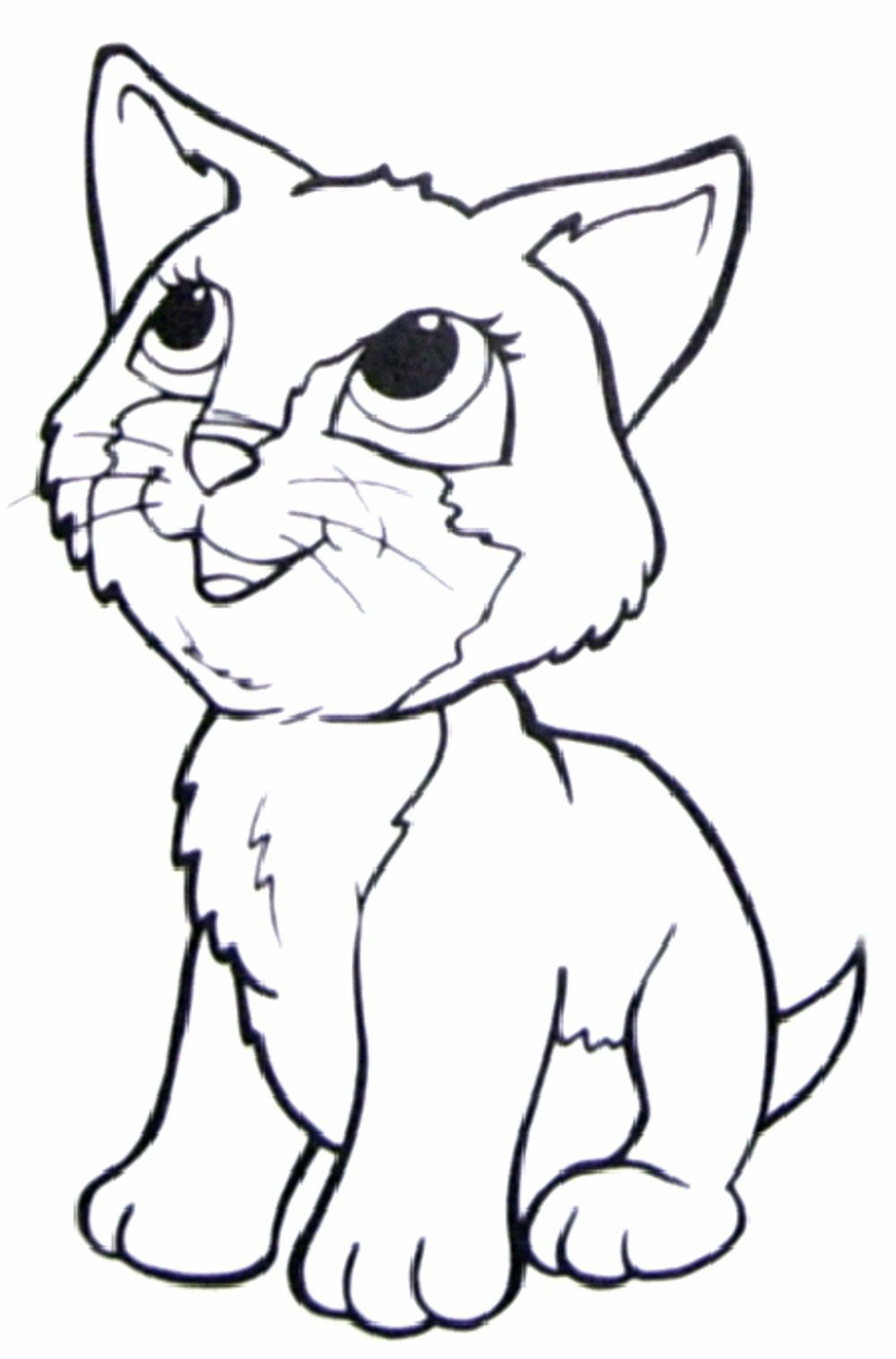 Cat Face Coloring Page Youngandtae Com Cat Coloring Page Cat Coloring Book Kitty Coloring