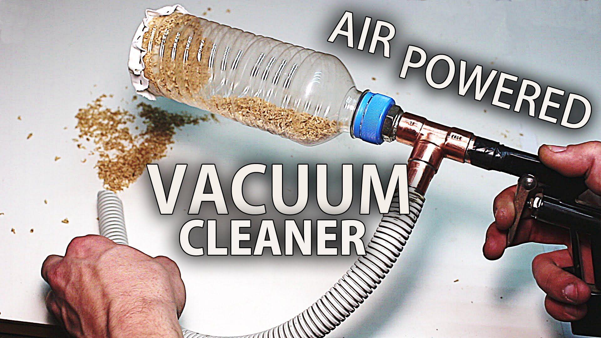How to Make an Air Powered Mini Vacuum Cleaner Venturi