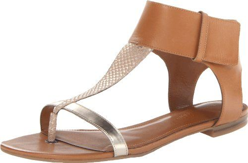 Enzo Angiolini Women's Tilah Dress Sandal,Natural Combo,7.5 ...