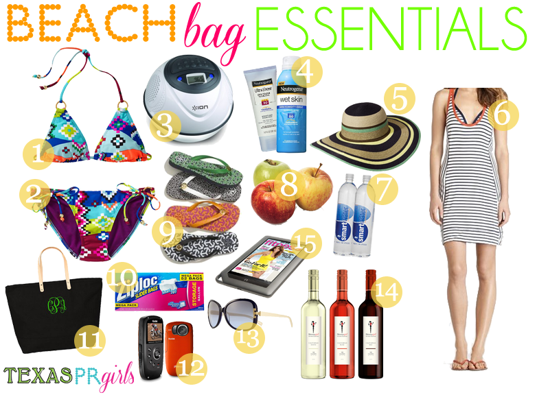 Rosanna's Table Talk: My Beach Bag Essentials | Sea and Sand ...
