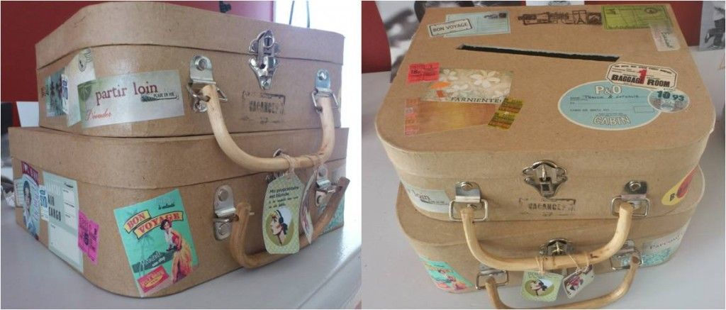 1000 images about mariage ides dco on pinterest - Valise Urne Mariage