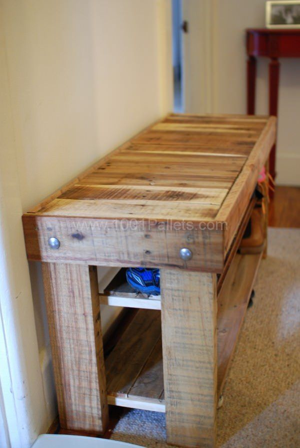Diy Pallet Shoe Rack Contemporary Ideas In The Entrance To