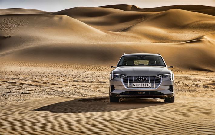 Download Wallpapers 4k Audi E Tron 55 Quattro Offroad 2019 Cars