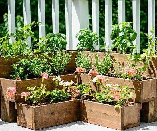 Den Garten individuell gestalten Kräutergarten anlegen Anleitung - bachlauf im garten anleitung