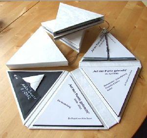 Papierherstellung und Buchbinden