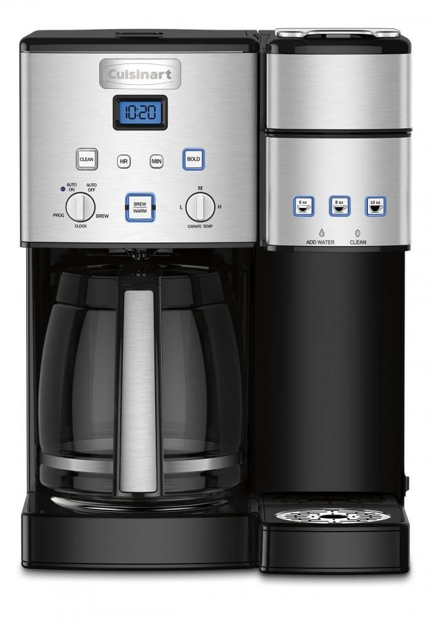 Coffee Center 12 Cup Coffeemaker And Single Serve Brewer Zoom Image Have I Died And Go Single Coffee Maker Cuisinart Coffee Maker Stainless Steel Coffee Maker