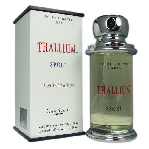 Thallium Sport Limited Edition for Men by Yves De Sistelle 3.3 oz EDT SP  http://www.themenperfume.com/thallium-sport-limited-edition-for-men-by-yves-de-sistelle-3-3-oz-edt-sp-3/