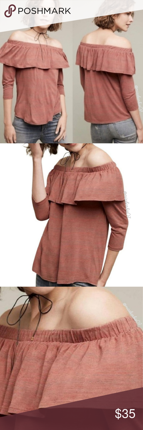 e3168dc0dc97a Anthropologie Dolan Left Coast Charla Off Shoulder New with tags  Anthropologie Dolan Left Coast Collection Charla