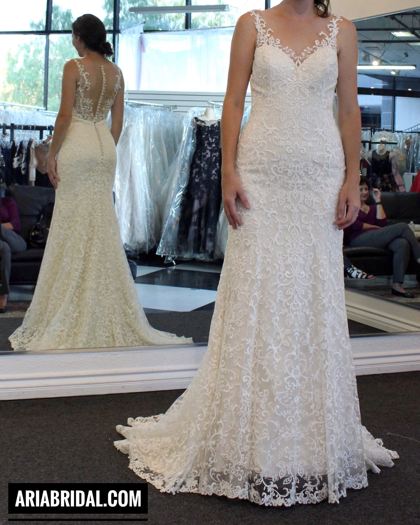 Wedding Dress at Aria Bridal in Escondido/ San Diego, California. Beautiful Wedding Dresses and Bridal Gowns in San Diego.