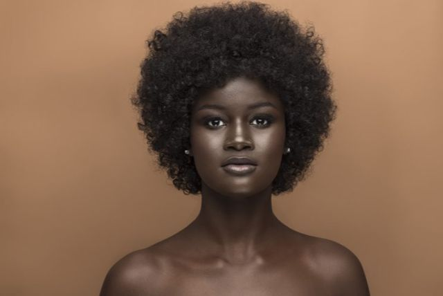 Model Who Was Bullied For Her Dark Skin Stars In Another Make Up For Ever Campaign Beauty Melanin Beauty Dark Skin