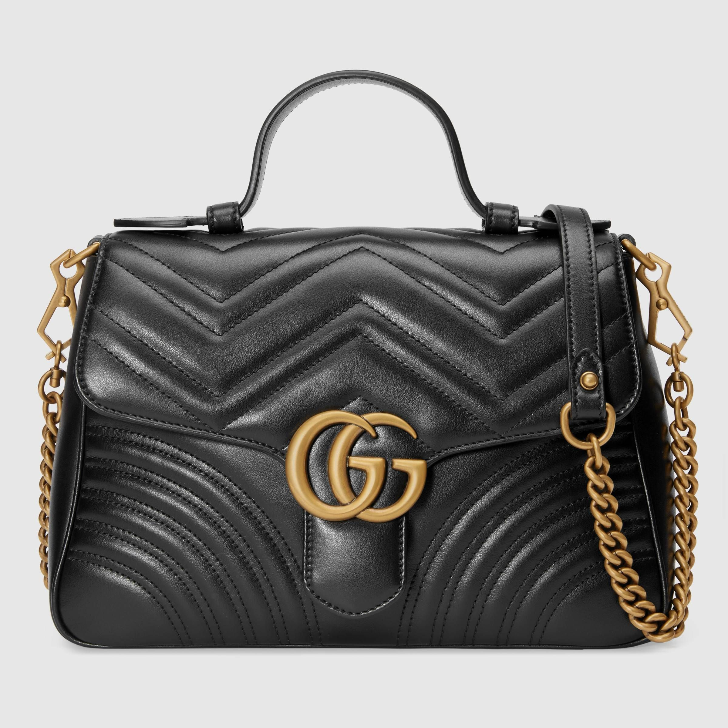 29e8d30a8b9cfc GG Marmont small top handle bag in 2019 | Handbags | Gg marmont ...