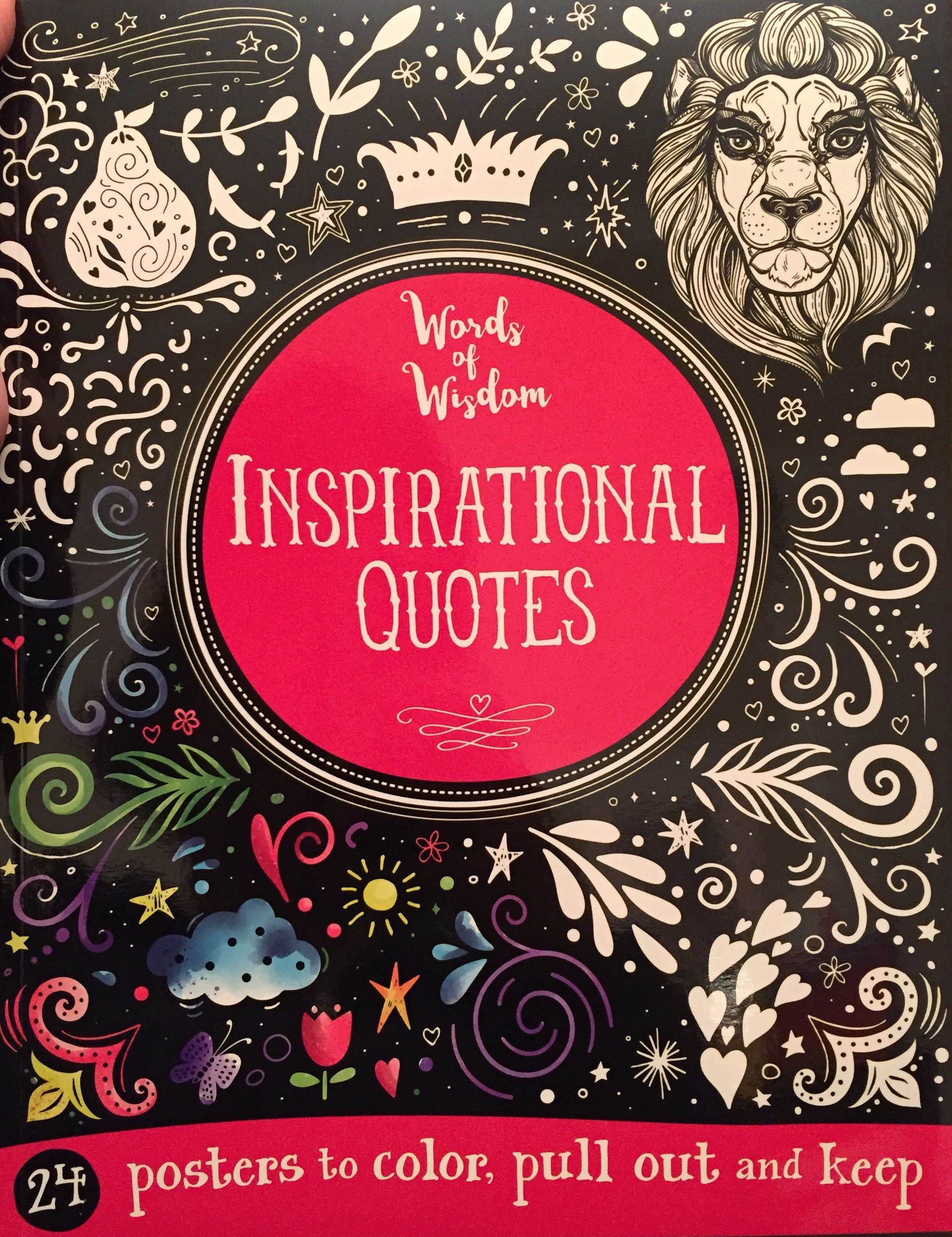 540 Usborne Inspirational Quotes Coloring Book Picture HD