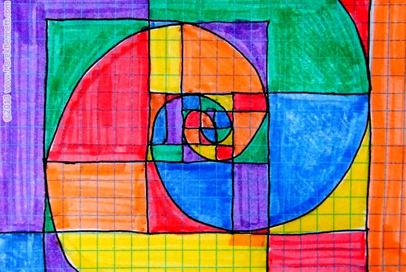 Taking shape from the world-famous Fibonacci sequence ...