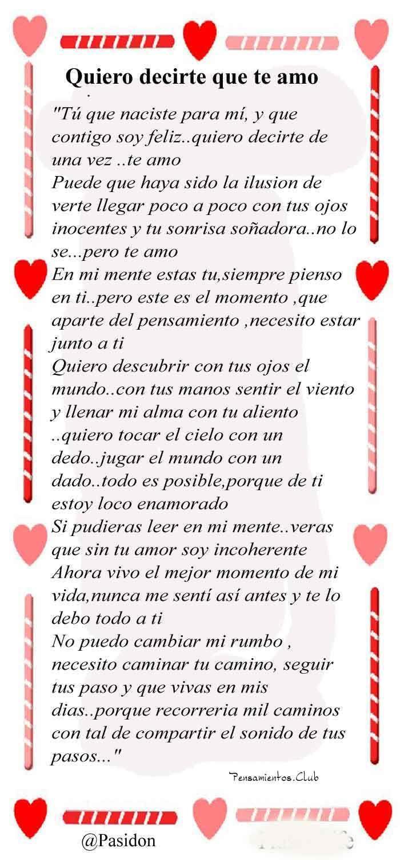 20 Cartas Poemas De Amor Muy Romanticos Para Enamorar Pensamientos