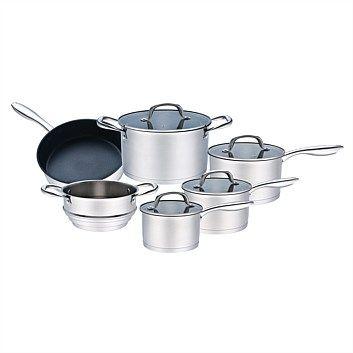 Hampton Mason Radiance Cookware Set 6 Piece Cookware Set The
