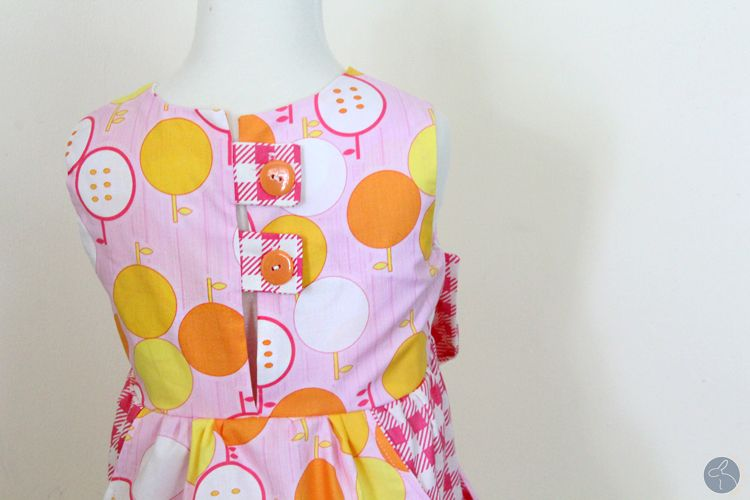Dottie's Dress Sewing Tutorial – Bow Big or Bow Home