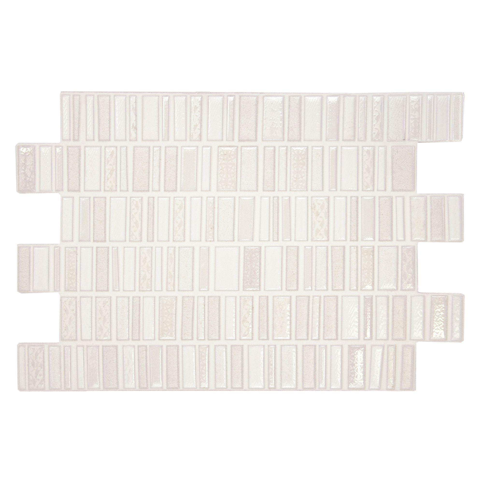 Allure 12 X 8 Ceramic Wall Tile In White Wayfair Ceramic Wall Tiles Merola Tile Wall Tiles
