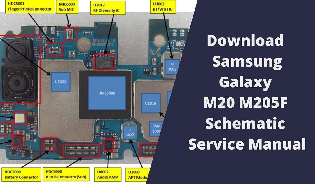 Samsung Galaxy M20 M205f Schematic