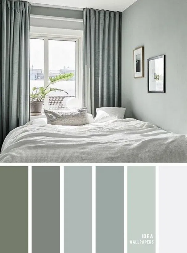 25 Earth Tone Colors For Bedroom Color Scheme For Cozy Bedroom Bedroom Bedroomide Bedroom Colour Palette Master Bedroom Color Schemes Master Bedroom Colors