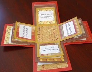 Gratitude Boxes Thanksgiving Ideas Overflow Gratitude Boxes