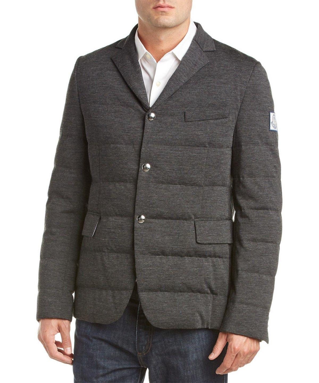 bc29b7f53 MONCLER Moncler Wool And Cashmere-Blend Blazer .  moncler  cloth ...
