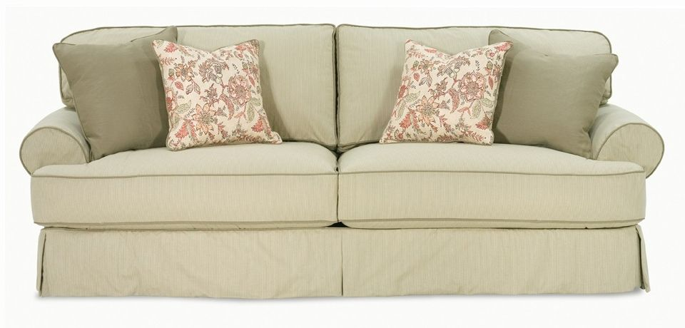 Addison T Cushion Sofa Slip Cover Cushions On Sofa Slipcovered Sofa Rowe Furniture