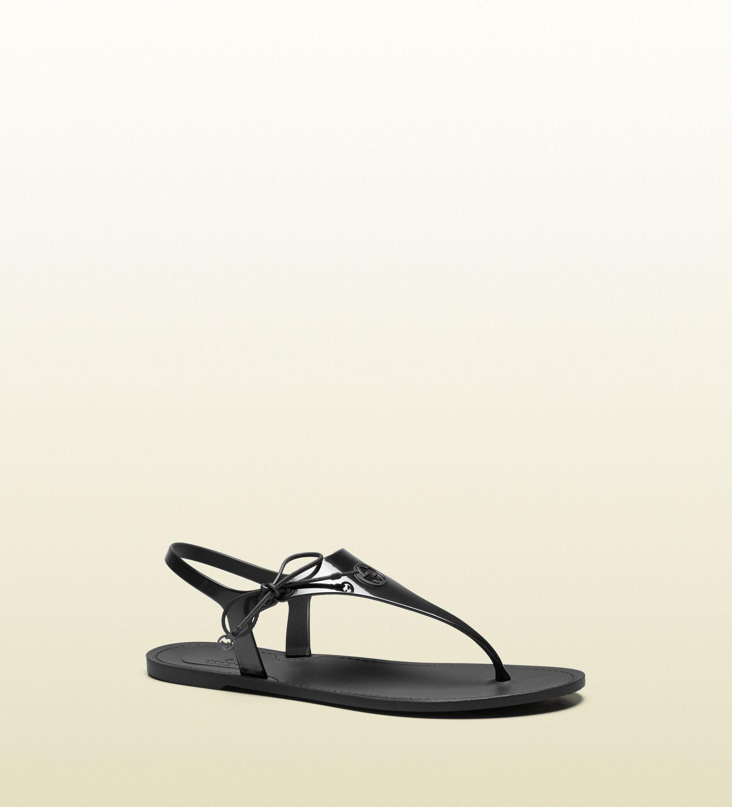 ac4b5b8bc Gucci katina bio-plastic rubber thong sandal | shoe shoes shoes ...