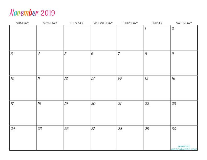 photograph about Outlook Calendar Printable referred to as Tailor made Editable Cost-free Printable 2019 Calendars ele Absolutely free