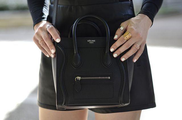 7c7b2b5eeb01 Celine Nano Small Bag Purse