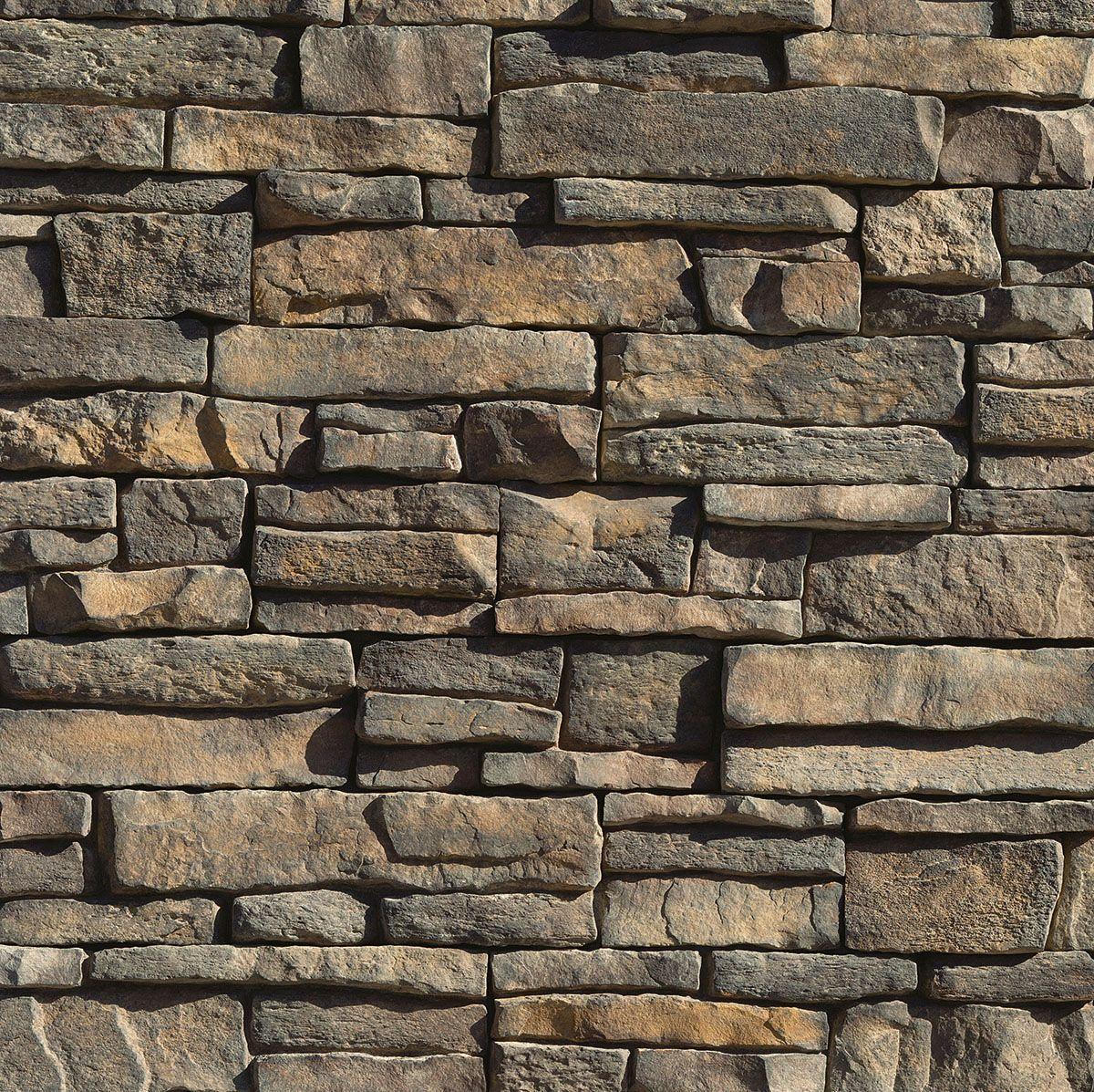 Eldorado Stone Mountain Ledge Panels Fire Place Redo