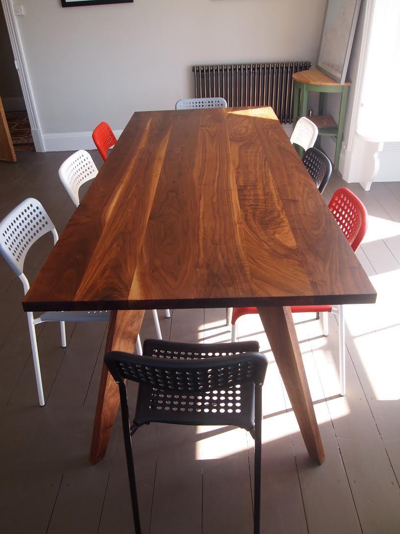 Meeting Room Table American Black Walnut Dinning Table Conference - Black conference room table