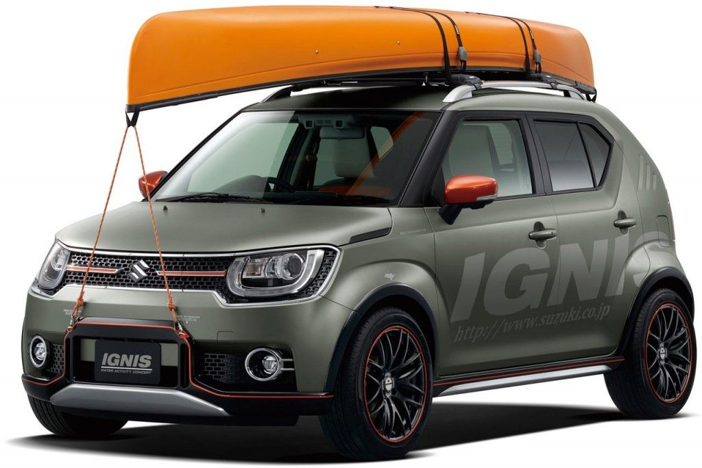 Suzuki Ignis India Bound Water Activity Concept Revealed