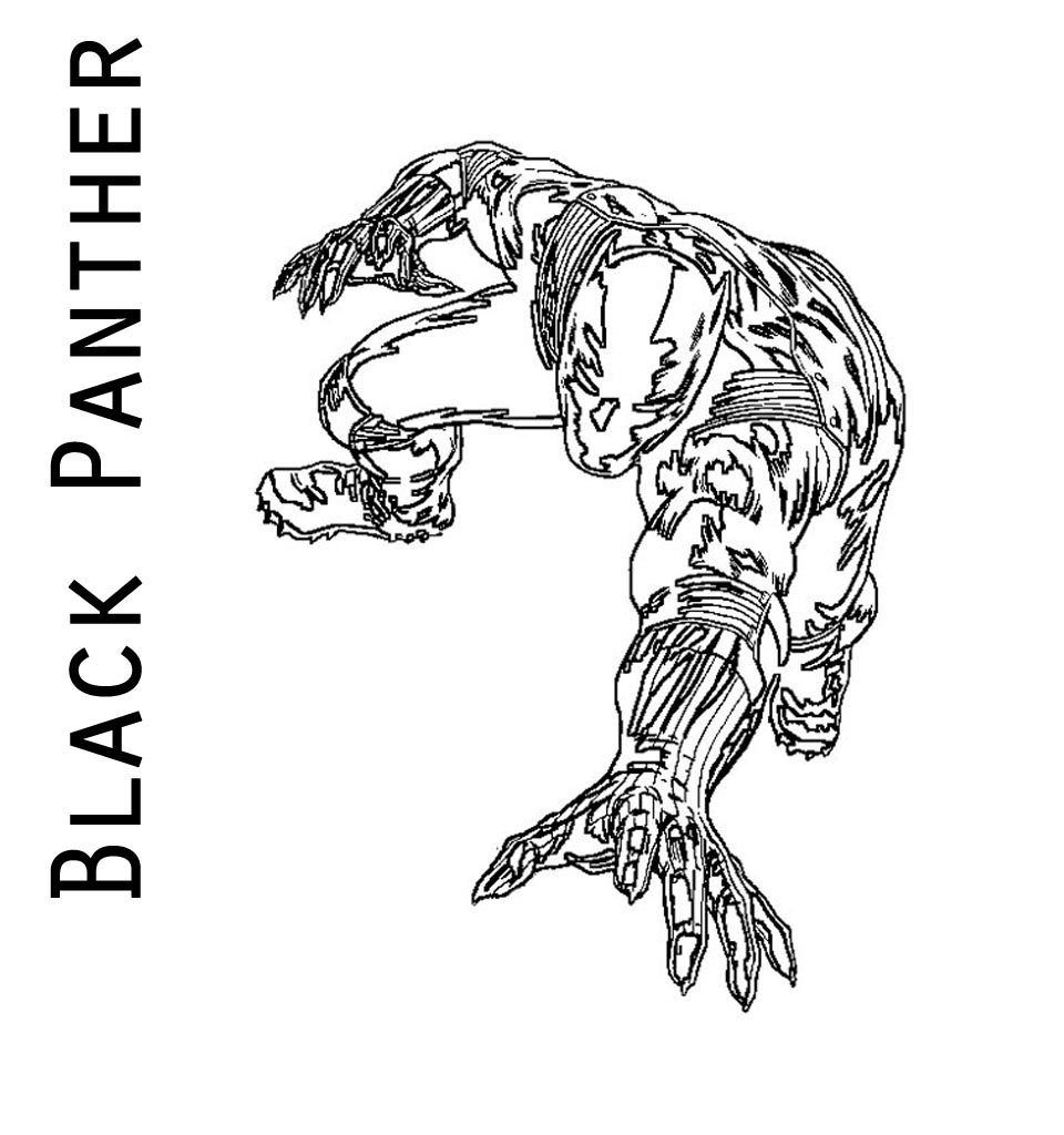 Black Panther Coloring Pages Best Coloring Pages For Kids Avengers Coloring Pages Avengers Coloring Black Panther Drawing