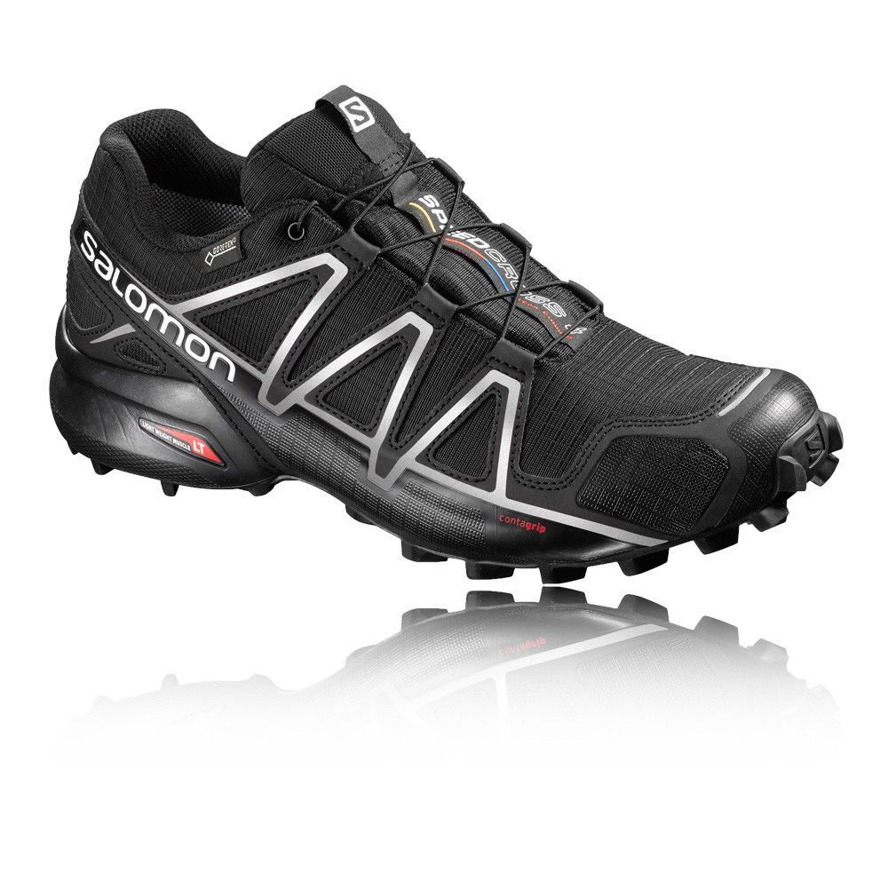 Salomon Speedcross 4 Mens Black Gore Tex Waterproof Running