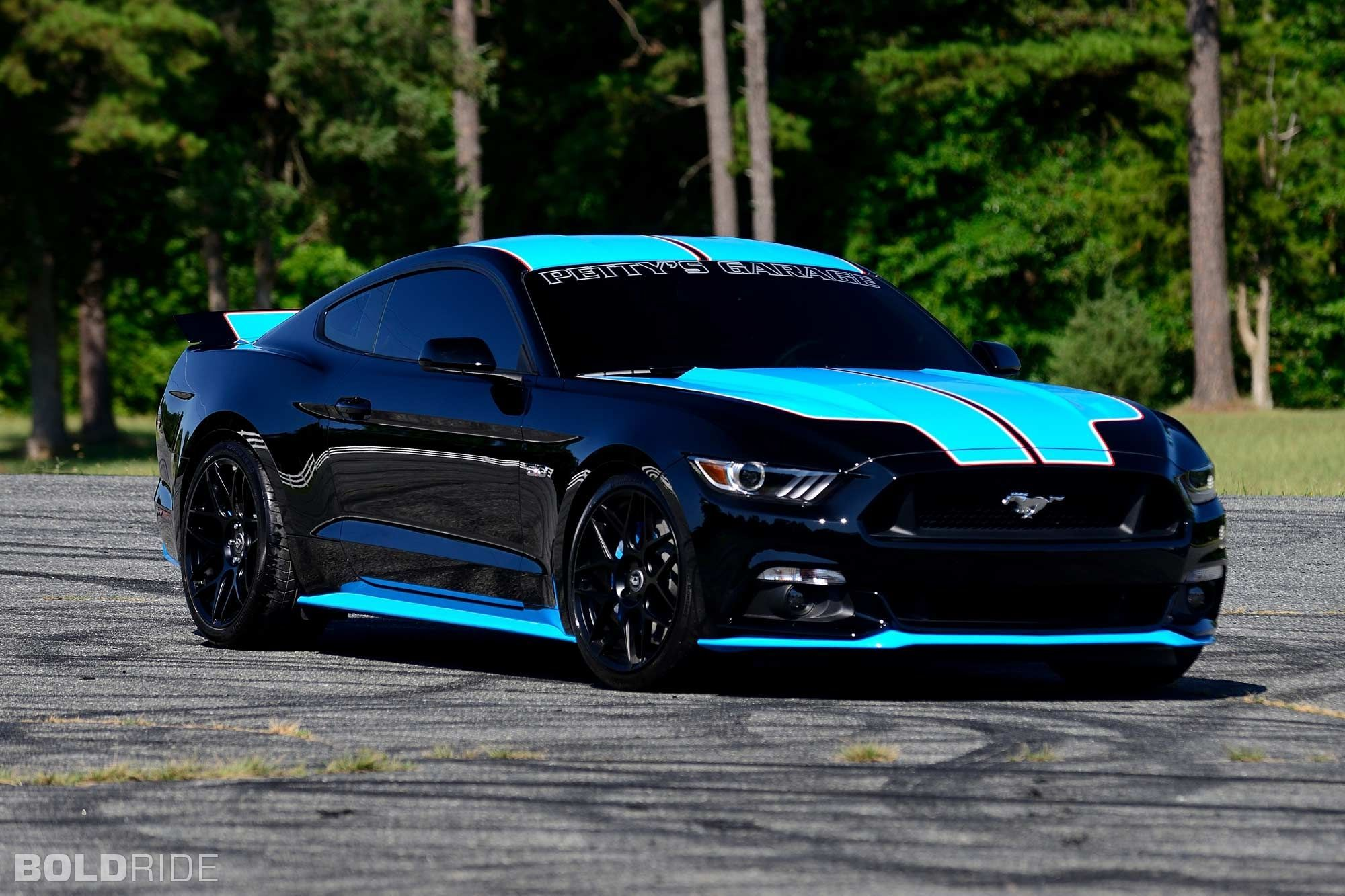 Richard Petty Garage Ford Mustang Gt First Car Ford