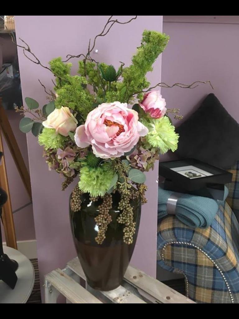 Pretty faux flowers flowers