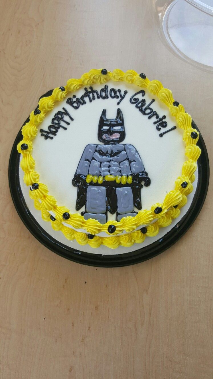 Lego Batman DQ Cake By Mandy Dairy Queen Cakes My